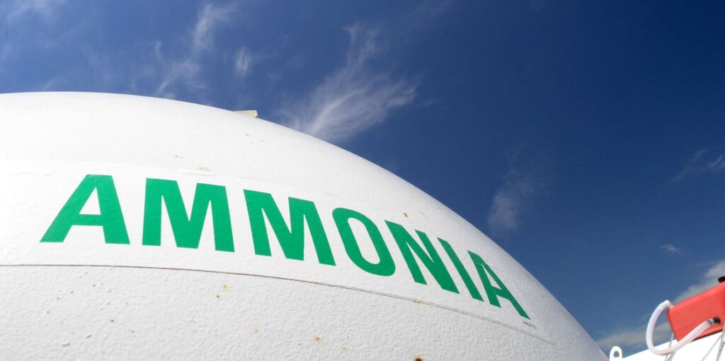 Is the toxic effect of ammonia a larger risk than the risk on explosion?
